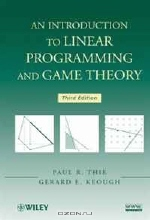 Paul R. Thie, Gerard E. Keough. An Introduction to Linear Programming and Game Theory